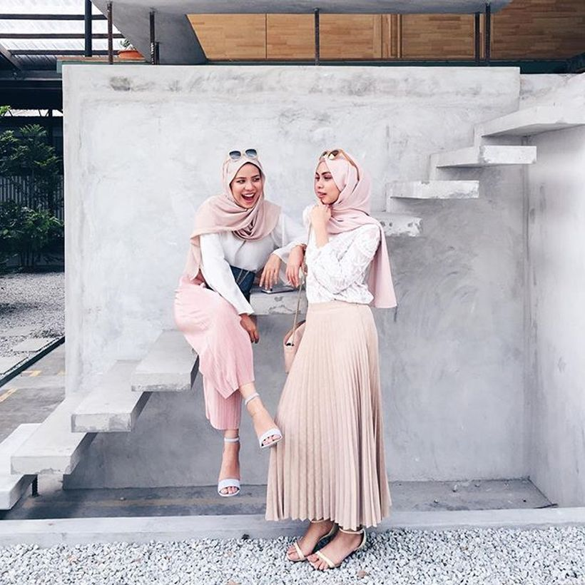 Elegant muslim outift ideas for eid mubarak 90