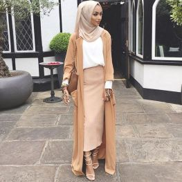 Elegant muslim outift ideas for eid mubarak 94