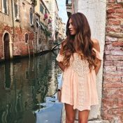 Fabulous boho open shoulder outfits ideas 46
