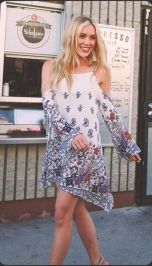 Fabulous boho open shoulder outfits ideas 50