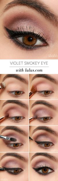 Fabulous look natural green eyes makeup 21
