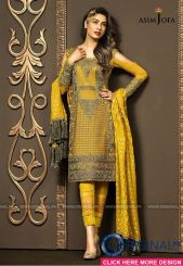Fashionable muslim pakistani outfits 10