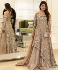 Fashionable muslim pakistani outfits 8