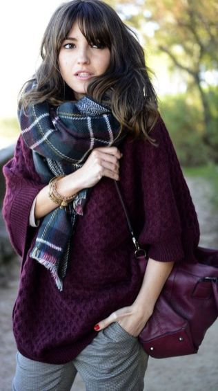 Fashionable scraves accessories ideas for cold weather 17