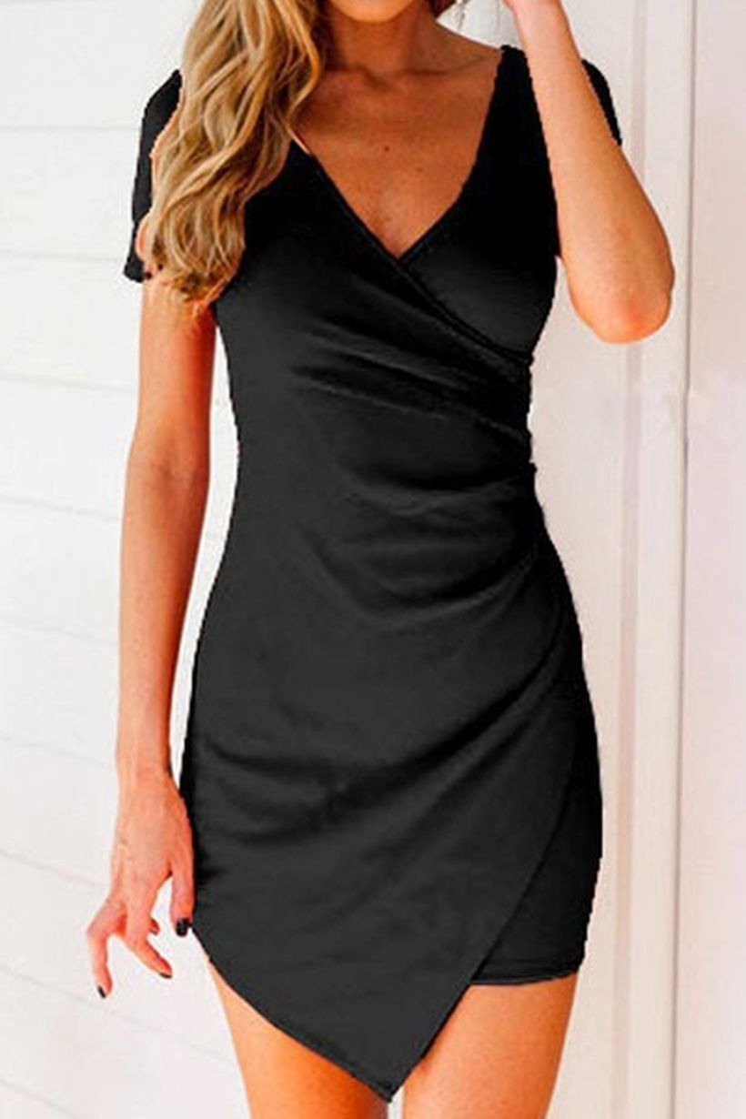 Gorgeous elegance black dress outfits 11