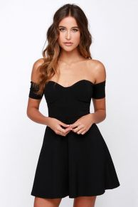 Gorgeous elegance black dress outfits 27