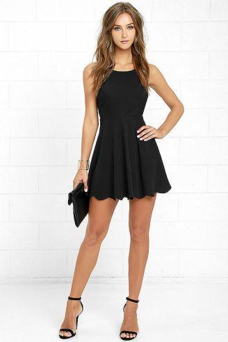 Gorgeous elegance black dress outfits 31