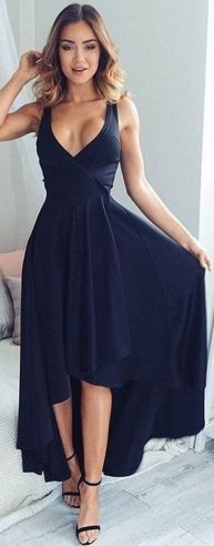 Gorgeous elegance black dress outfits 33