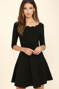 Gorgeous elegance black dress outfits 42