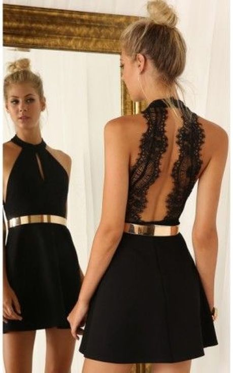 Gorgeous elegance black dress outfits 45