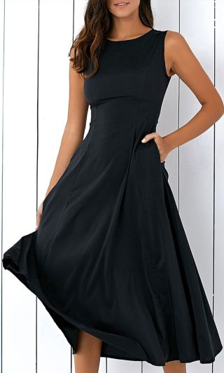 Gorgeous elegance black dress outfits 47