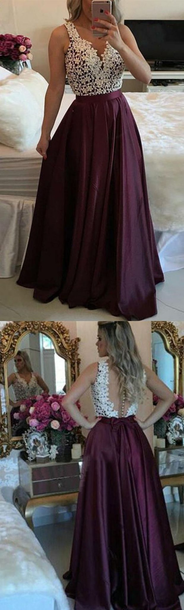 Gorgeous prom dresses for teens ideas 2017 33