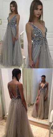 Gorgeous prom dresses for teens ideas 2017 57