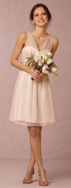 Gorgeous short bridesmaid dresses design ideas 1