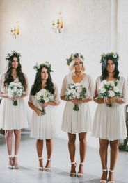 Gorgeous short bridesmaid dresses design ideas 19