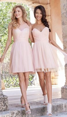 Gorgeous short bridesmaid dresses design ideas 27