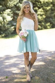Gorgeous short bridesmaid dresses design ideas 31
