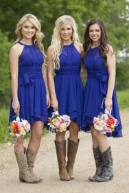 Gorgeous short bridesmaid dresses design ideas 33