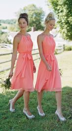 Gorgeous short bridesmaid dresses design ideas 45