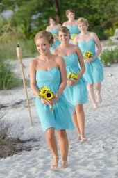 Gorgeous short bridesmaid dresses design ideas 5