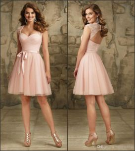 Gorgeous short bridesmaid dresses design ideas 50
