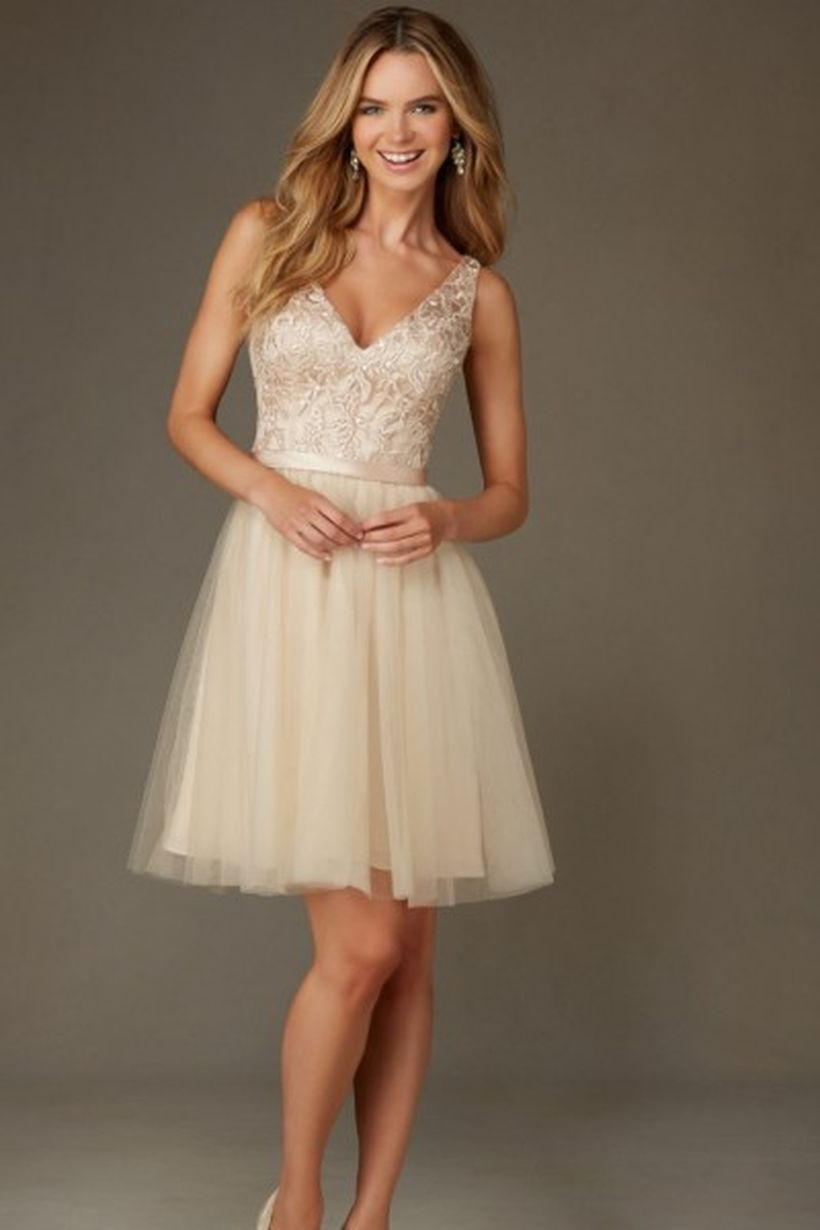 Gorgeous short bridesmaid dresses design ideas 51