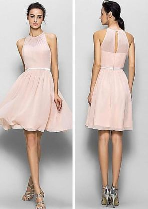 Gorgeous short bridesmaid dresses design ideas 8