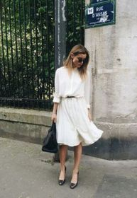 Gorgeous white shirtdresses for summer and spring outfits 10