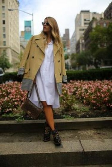 Gorgeous white shirtdresses for summer and spring outfits 12