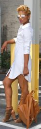 Gorgeous white shirtdresses for summer and spring outfits 22
