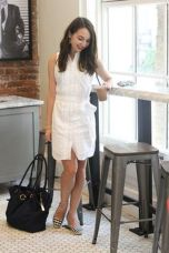 Gorgeous white shirtdresses for summer and spring outfits 3