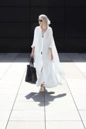Gorgeous white shirtdresses for summer and spring outfits 4