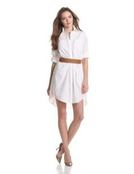 Gorgeous white shirtdresses for summer and spring outfits 45