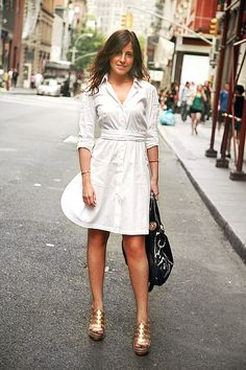 Gorgeous white shirtdresses for summer and spring outfits 48