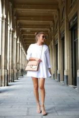Gorgeous white shirtdresses for summer and spring outfits 50