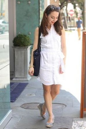 Gorgeous white shirtdresses for summer and spring outfits 58
