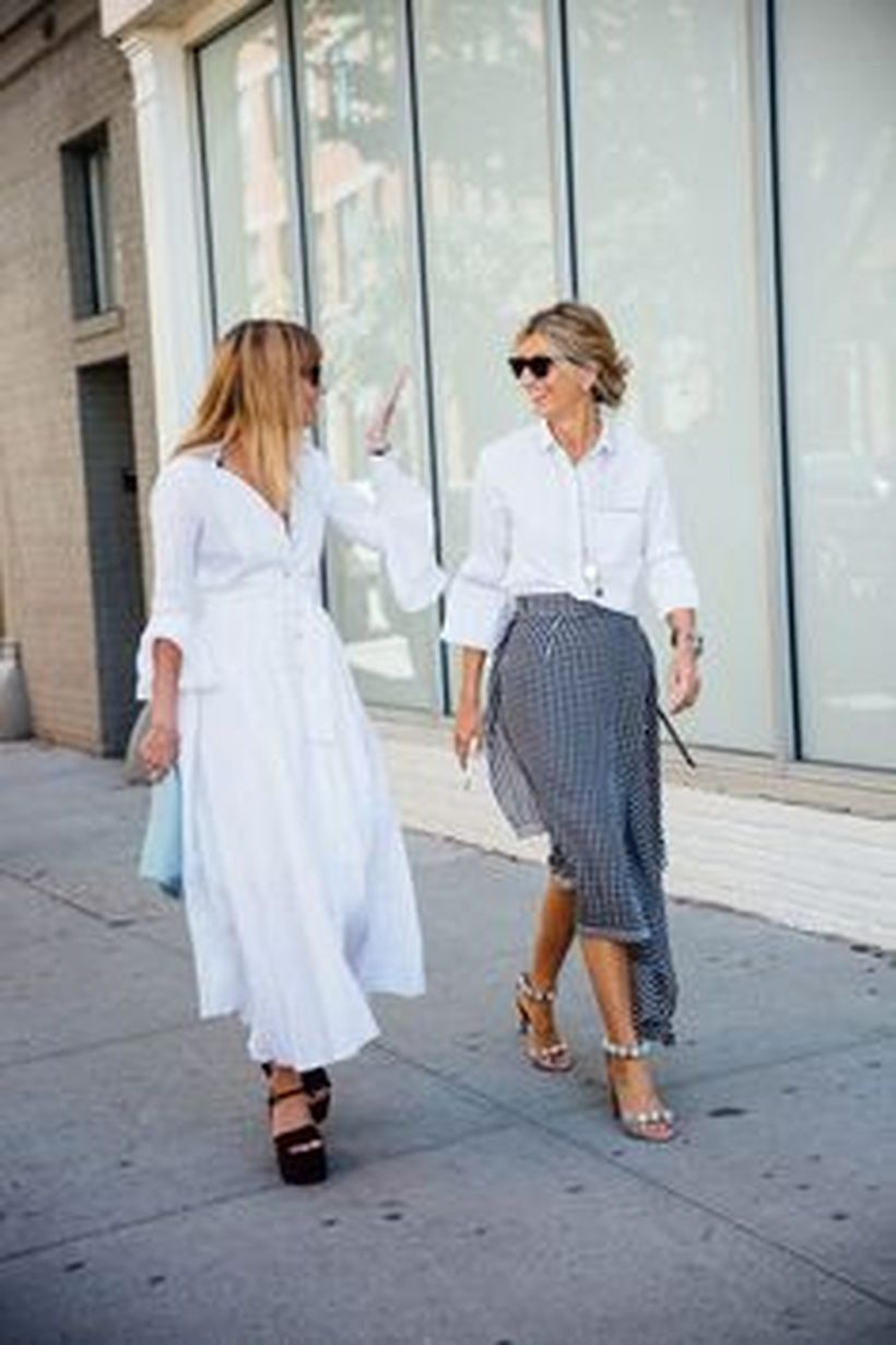 Gorgeous white shirtdresses for summer and spring outfits 6