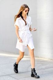 Gorgeous white shirtdresses for summer and spring outfits 62