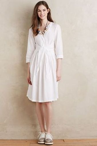 Gorgeous white shirtdresses for summer and spring outfits 64