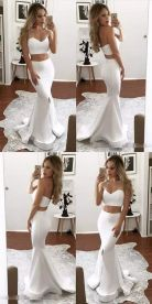 Gorgeous white two piece outfits ideas 40