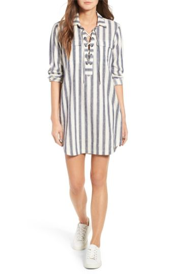 Marvelous striped shirtdresses outfits ideas 13