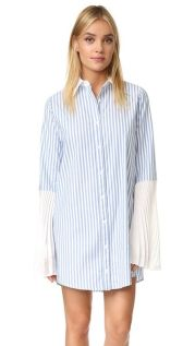 Marvelous striped shirtdresses outfits ideas 20