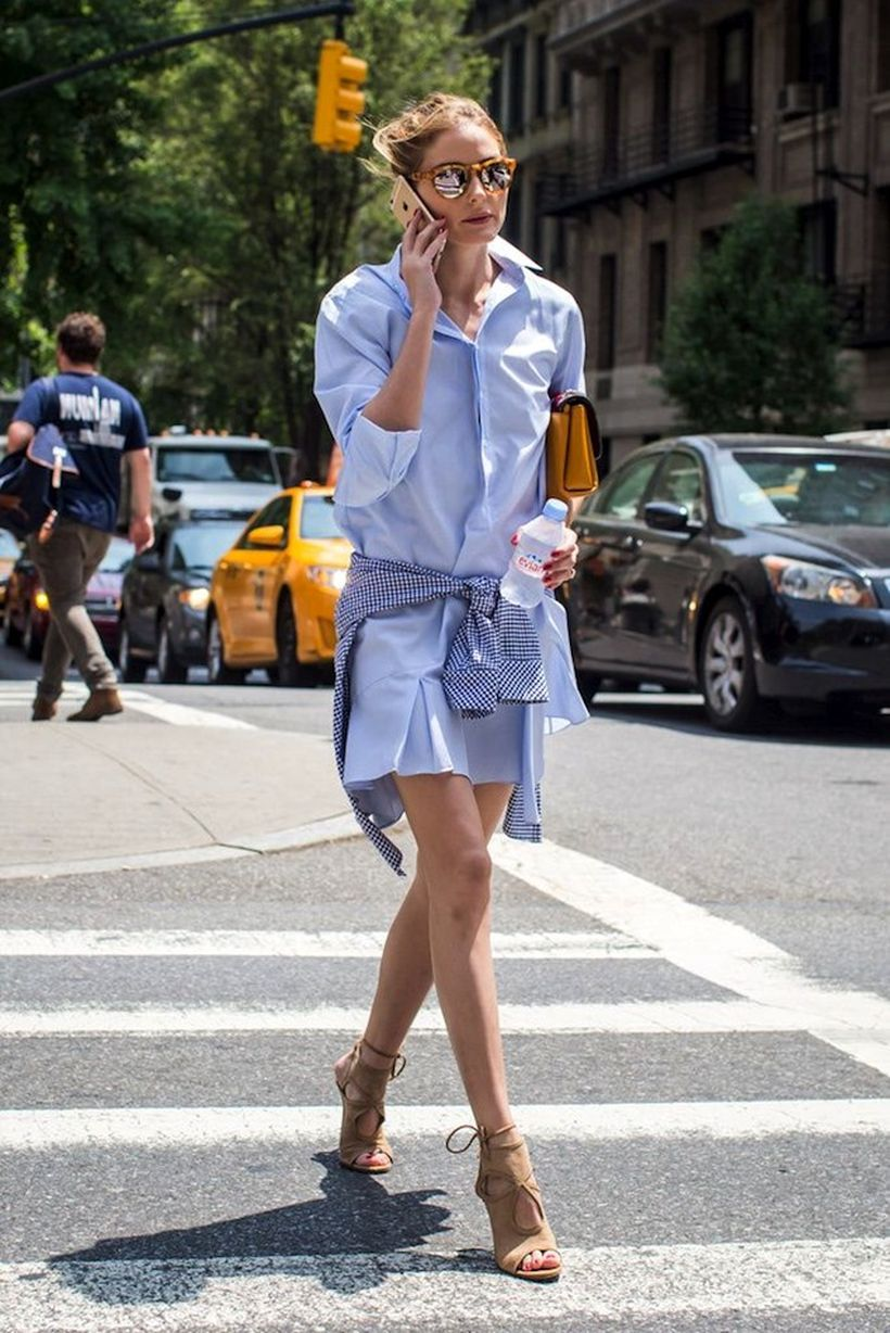 Marvelous striped shirtdresses outfits ideas 29
