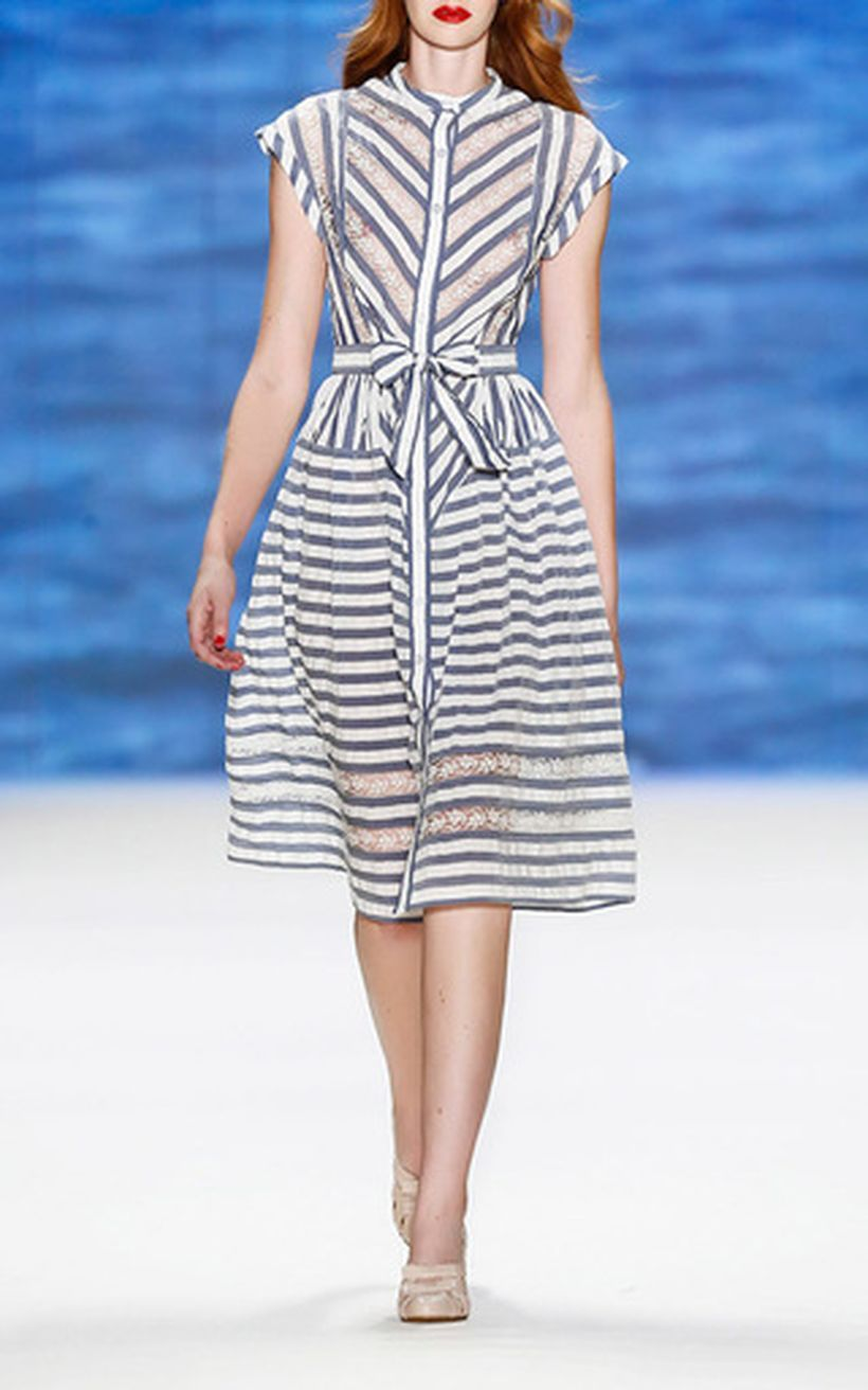 Marvelous striped shirtdresses outfits ideas 37