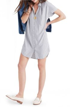 Marvelous striped shirtdresses outfits ideas 46