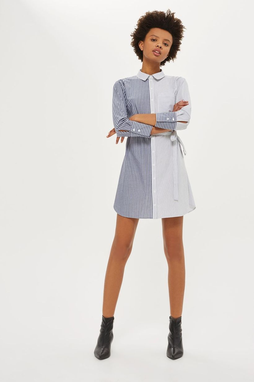 Marvelous striped shirtdresses outfits ideas 60