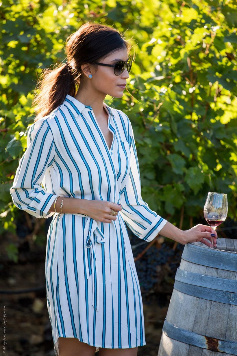 Marvelous striped shirtdresses outfits ideas 68
