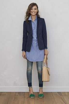 Marvelous striped shirtdresses outfits ideas 75