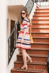 Marvelous striped shirtdresses outfits ideas 9