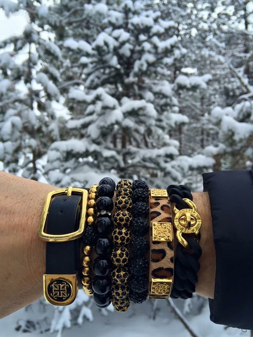 Stacked arm candies jewelry ideas 1